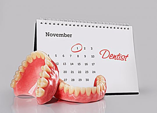 Why you need to visit the dentist regularly if you wear dentures ?